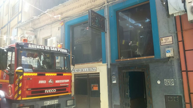 Incendio en Arenas de San Pedro - TiétarTeVe
