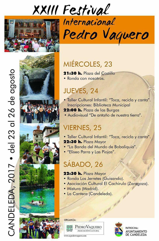 XXIII Festival Pedro Vaquero en Candeleda - TiétarTeVe