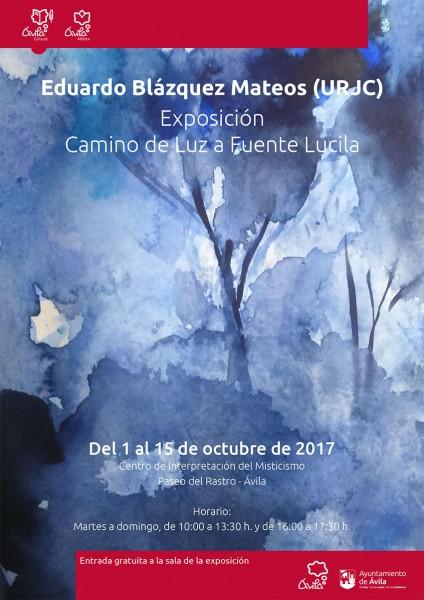Exposición Eduardo Blázquez Mateos en Ávila - TiétarTeve