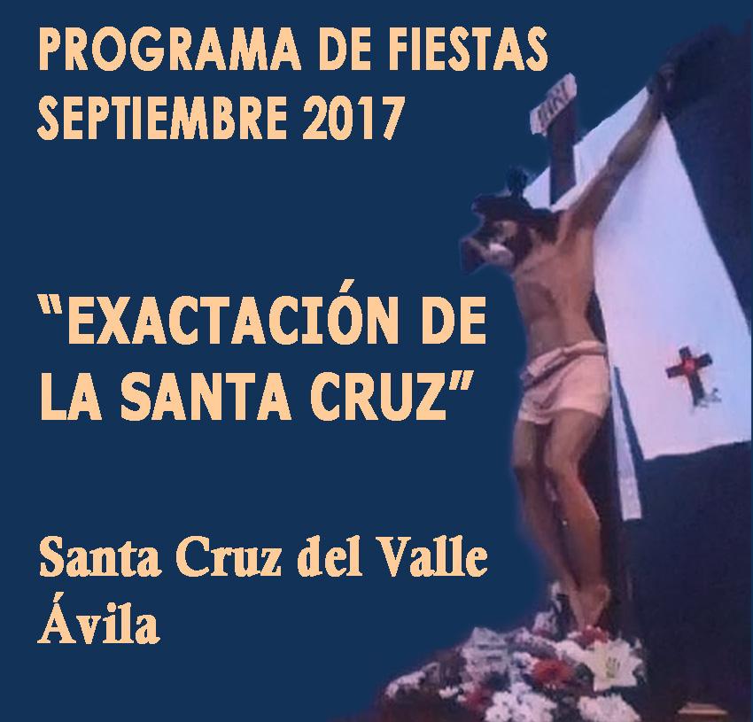 Exaltación de la Santa Cruz 2017 en Santa Cruz del Valle - TiétarTeVe