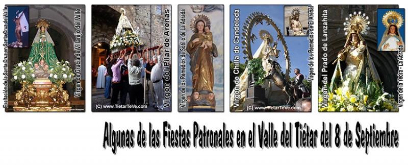 Fiestas Patronales del 8 de Septiembre en el Valle del Tiétar - TiétarTeVe
