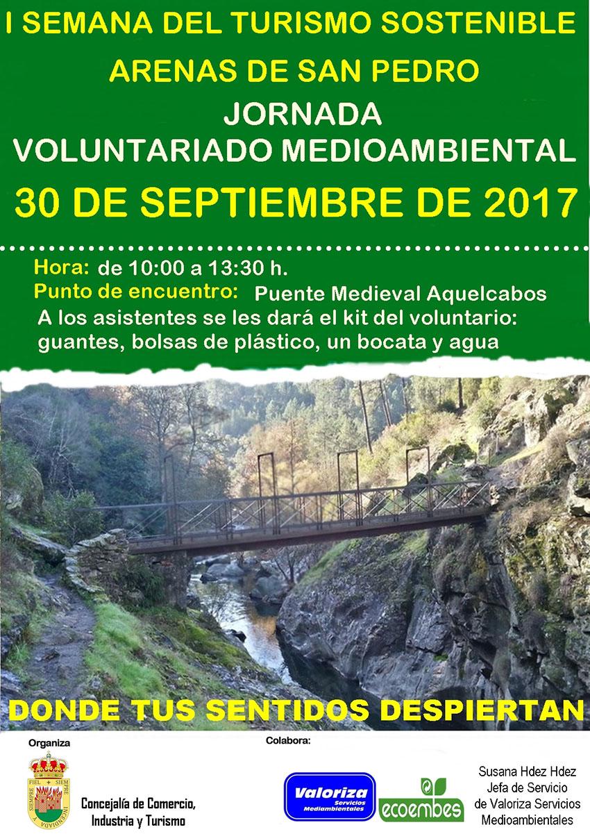 I Jornada Voluntariado Ambiental Arenas de San Pedro - TiétarTeVe