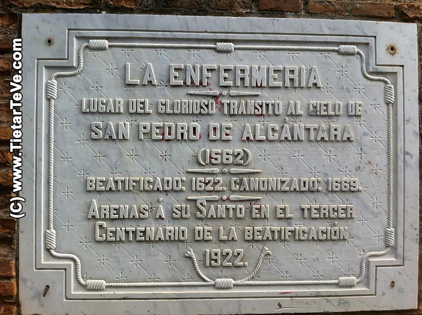Residencia de San Pedro de Alcántara (antes Enfermería) - Arenas de San Pedro - TiétarTeVe