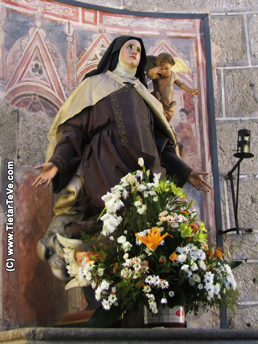 Santa Teresa en la Catedral de Ávila - TiétarTeVe
