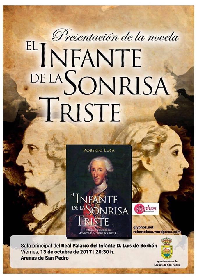Presentación libro El Infante de la Sonrisa Triste - Arenas de San Pedro