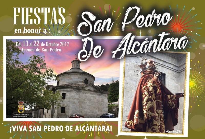 Fiestas en honor a San Pedro de Alcántara 2017 en Arenas de San Pedro - TiétarTeVe