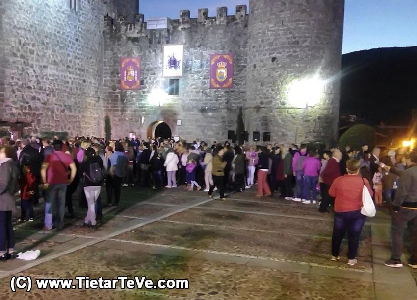 Abrazo al Castillo - Arenas de San Pedro - TiétarTeVe