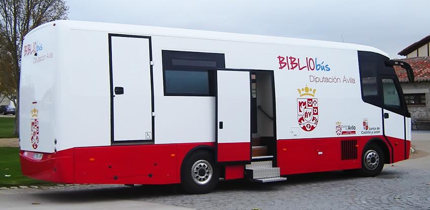 Bibliobús - Diputación de Ávila - TiétarTeVe