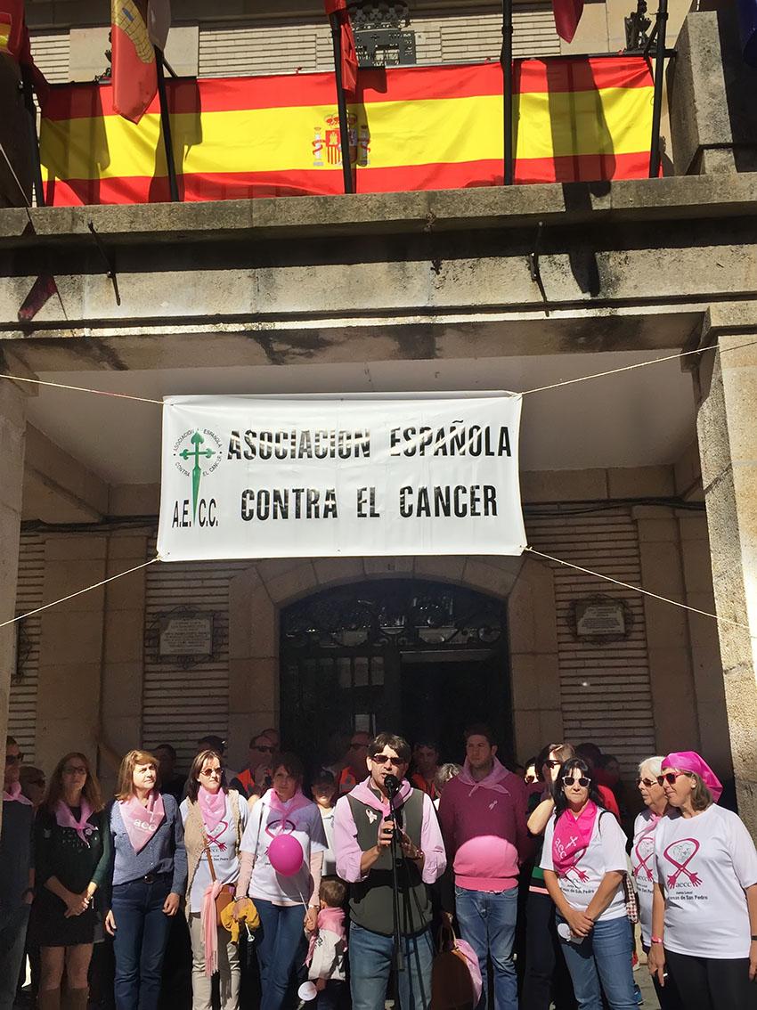 Día Contra el Cáncer de Mama - Arenas de San Pedro - TiétarTeVe