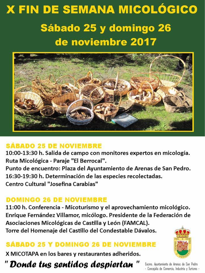 Fin Semana Micologico en Arenas de San Pedro - TiétarTeVe