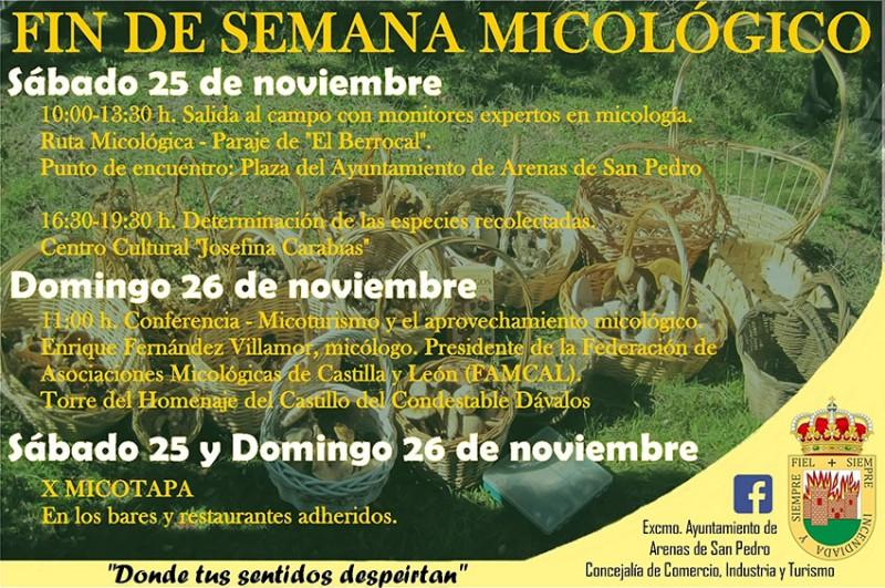 Fin de Semana Micológico - Arenas de San Pedro - TiétarTeVe
