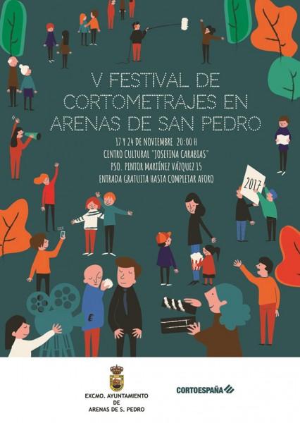 V Festival de Cortometrajes en Arenas de San Pedro - TiétarTeVe