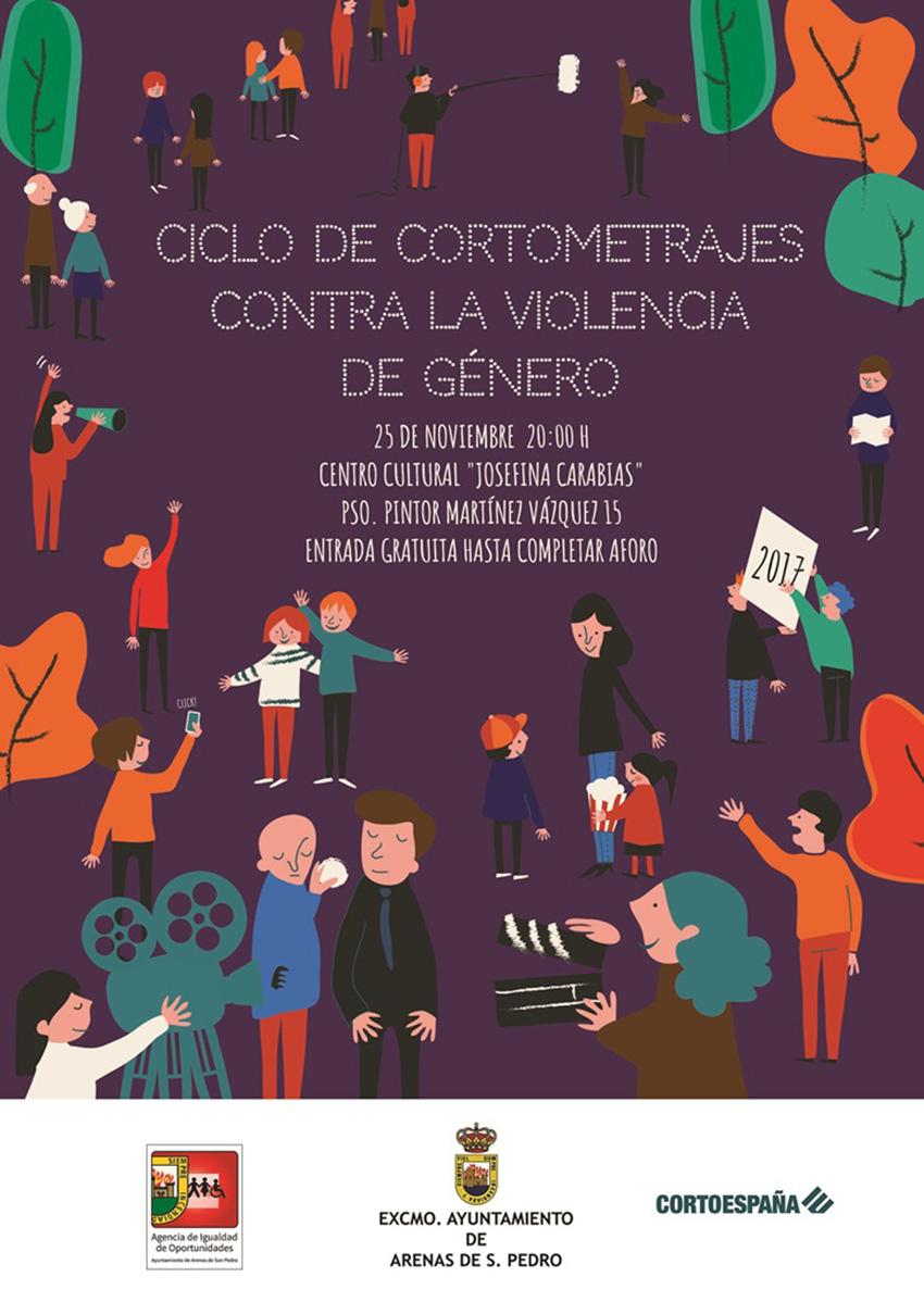 Ciclo de Cortometrajes contra la Violencia de Género en Arenas de San Pedro - TiétarTeVe