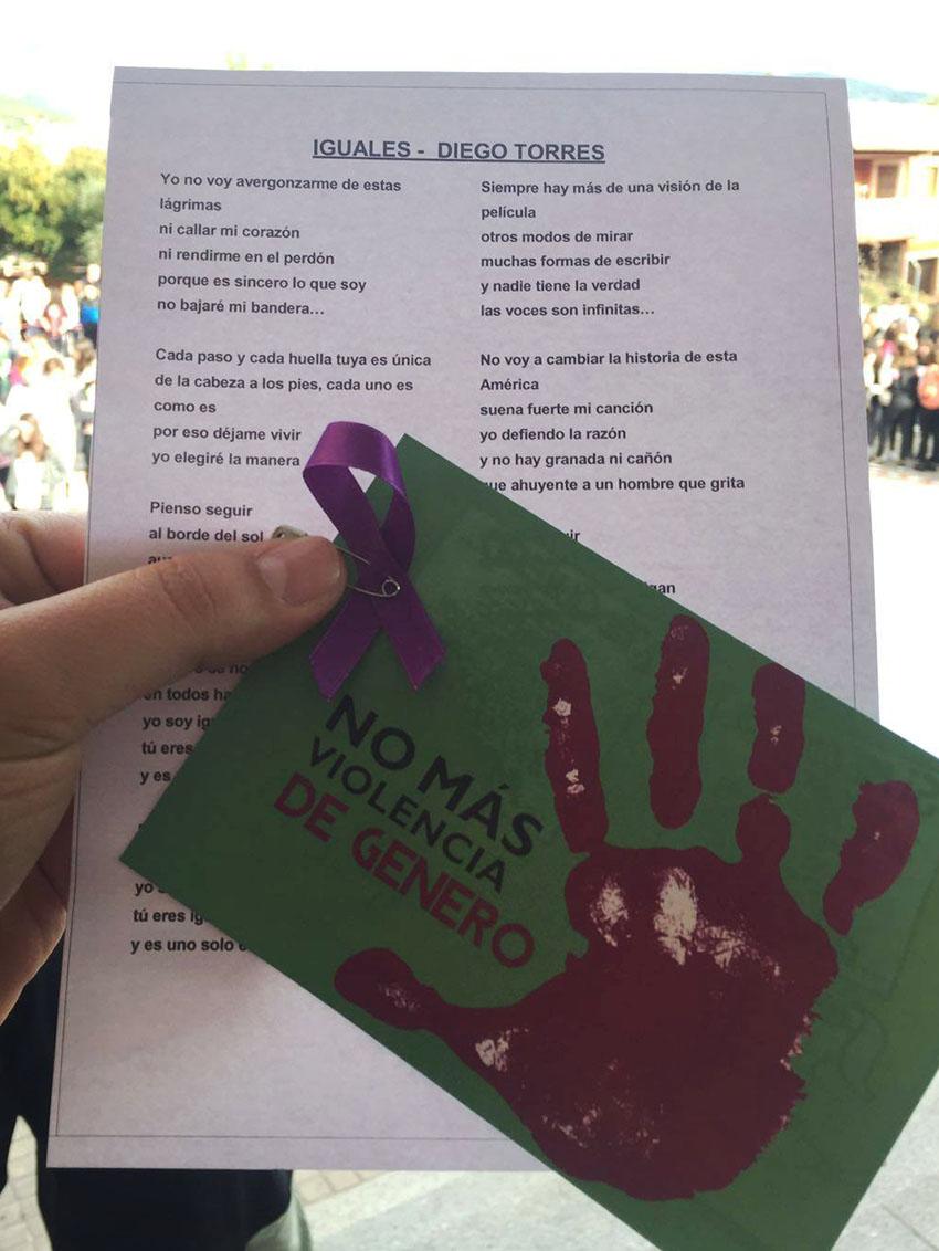 Actos Contra la Violencia de Género - IES ArenasDeSanPedro  - TiétarTeVe