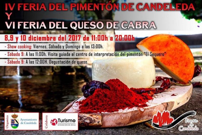 IV Feria del Pimentón y VI Feria del Queso de Cabra de Candeleda - TiétarTeVe