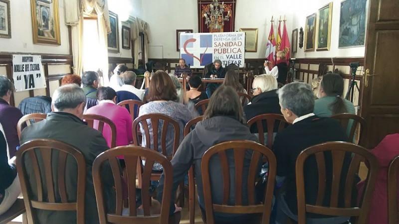 Jornada en Defensa de la Sanidad Pública en el Valle del Tiétar - Arenas de San Pedro - TiétarTeVe