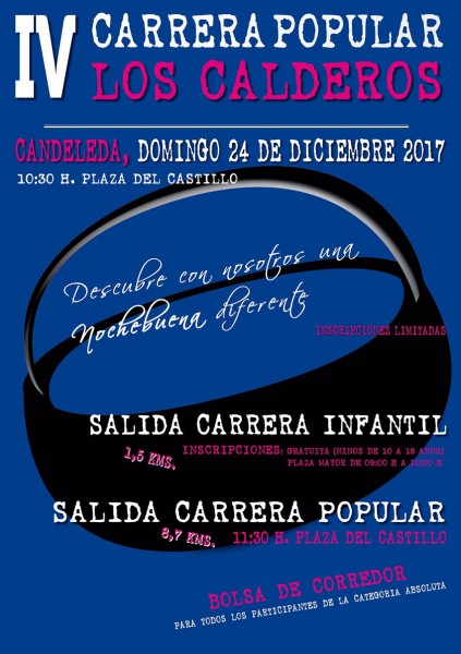 IV Carrera Popular Los Calderos de Candeleda 2017 - TiétarTeVe