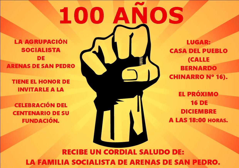 Centenario PSOE Arenas de San Pedro -  TiétarTeVe