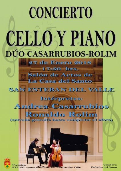 Concierto de Andrea Casarrubios en San Esteban del Valle - TiétarTeVe