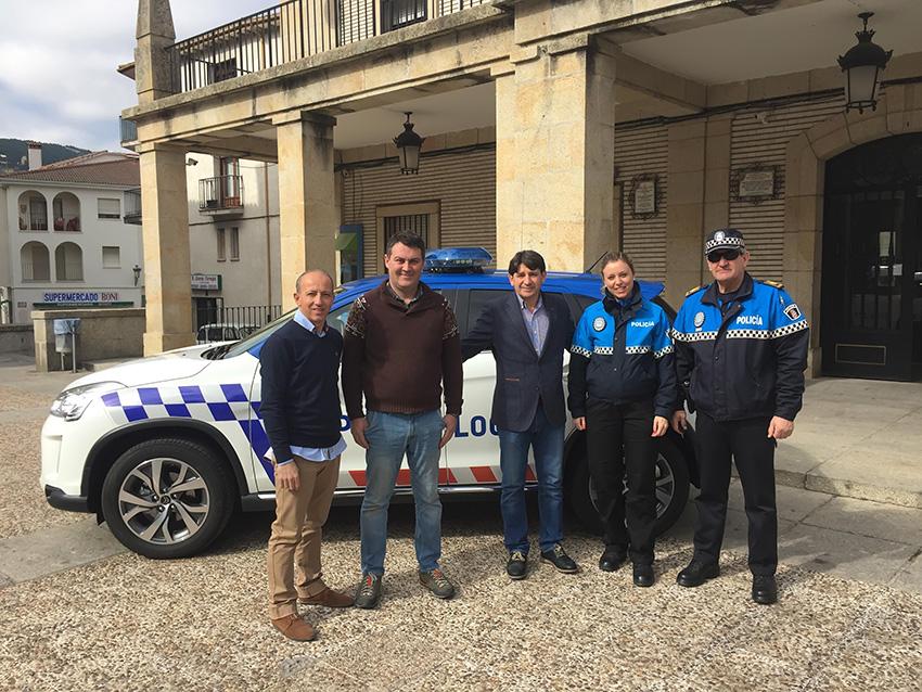 Nuevo coche policía local Arenas de San Pedro - TiétarTeVe