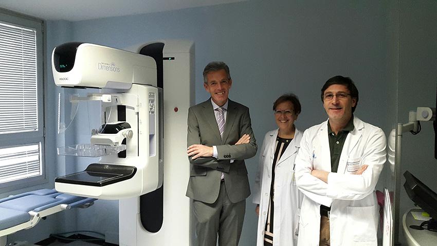 Nuevo mamógrafo digital para Ávila - TiétarTeVe