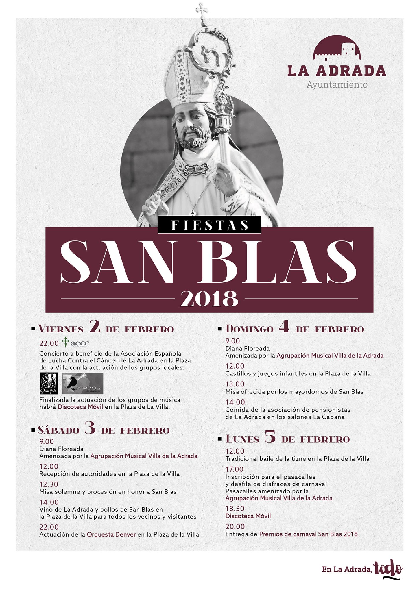 San Blas en La Adrada 2018 - TiétarTeVe