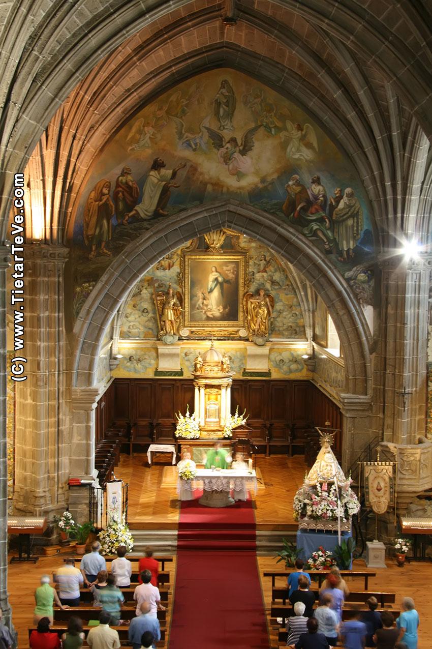 Iglesia de Nuestra Señora de la Asunción - Arenas de San Pedro - TiétarTeVe