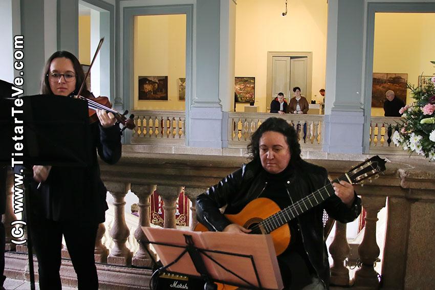 Inauguración del Museo de los Premios Gredos de Pintura de Arenas de San Pedro - TiétarTeVe