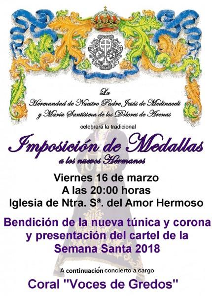 Inicio de la Semana Santa 2018 en Arenas de San Pedro - TiétarTeVe