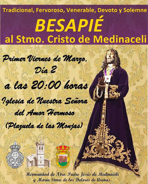 Besapie Semana Santa 2018 Arenas de San Pedro - TiétarTeVe
