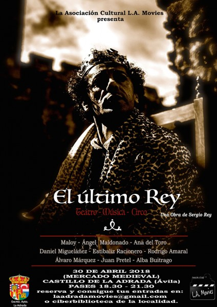 """""""El Último Rey"""" - L.A. Movies - La Adrada - TiétarTeVe"""