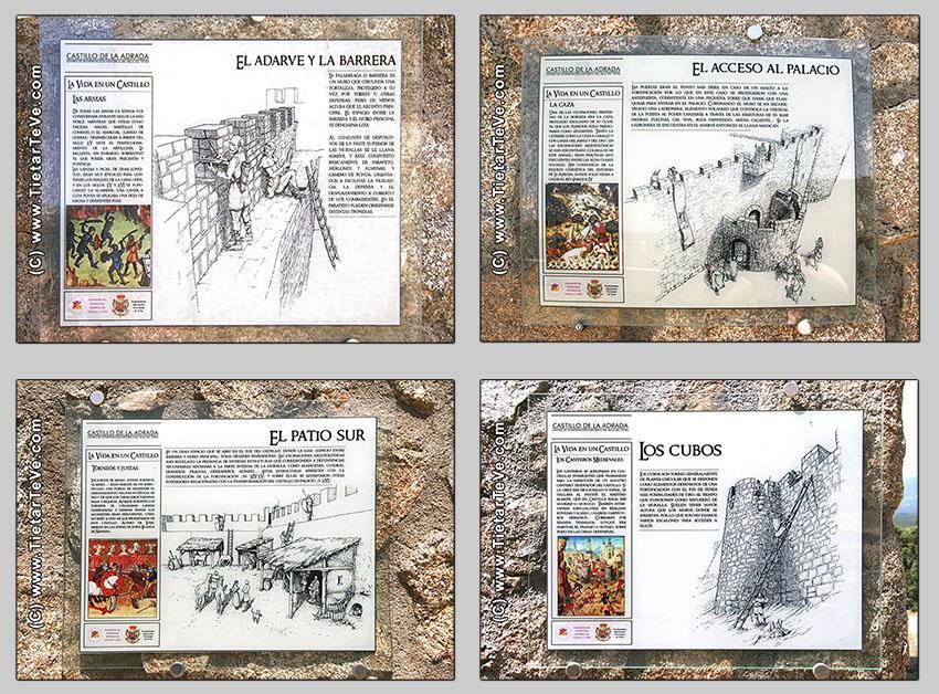 Carteles Castillo de La Adrada - TiétarTeVe