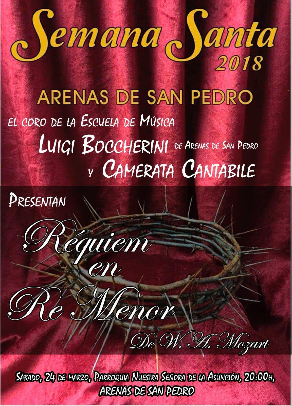Concierto Requiem Mozart - Arenas de San Pedro - TiétarTeVe