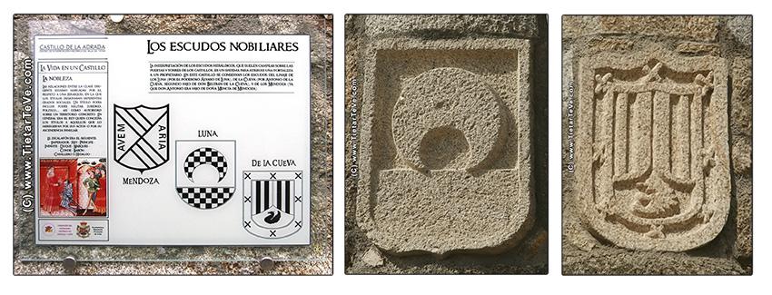 Escudos Nobiliares Castillo de La Adrada - TiétarTeVe