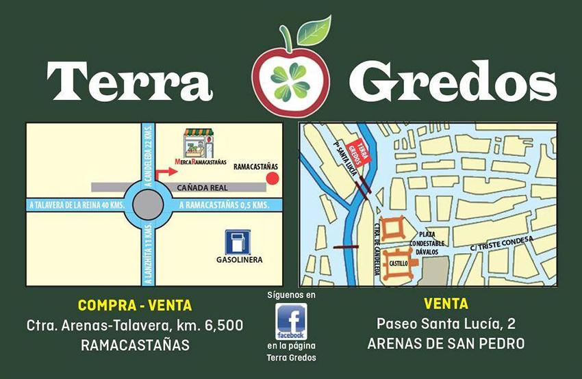 Logo Terra Gredos - Arenas de San Pedro - TiétarTeVe