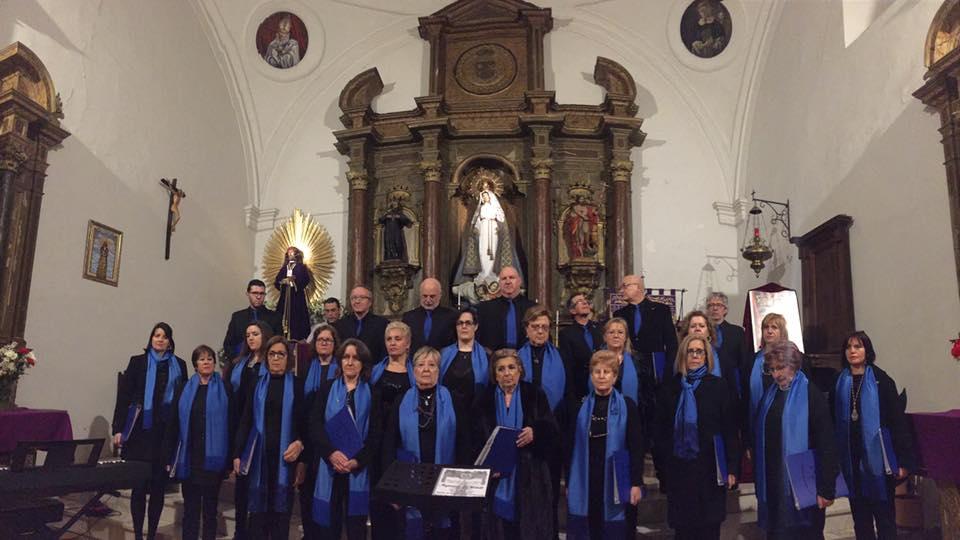 Semana Santa 2018 Arenas - Coral Voces de Gredos - TiétarTeVe