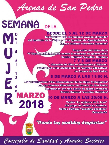 Semana de la Mujer 2018 - Arenas de San Pedro - TiétarTeVe