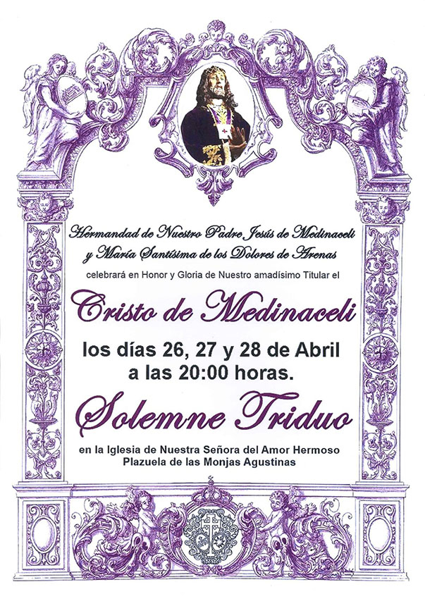 Triduo Cristo Medinaceli - Arenas de San Pedro - TiétarTeVe