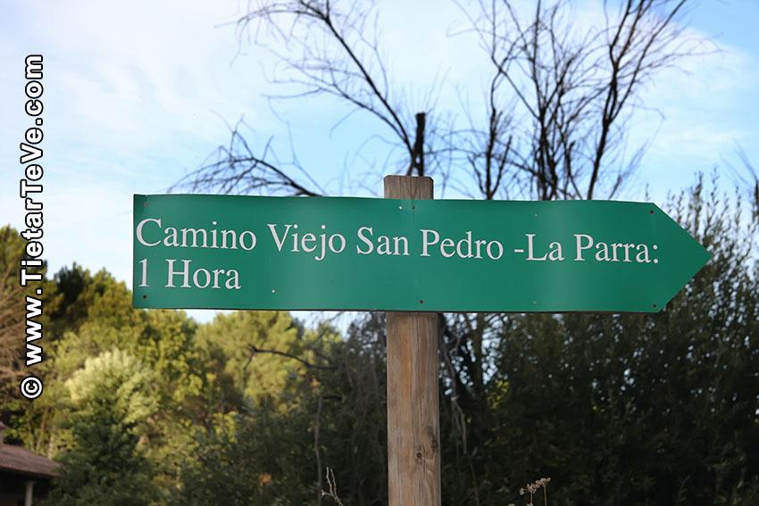 Carteles Ruta Camino Viejo San Pedro - Año 2010 - Arenas de San Pedro - TiétarTeVe