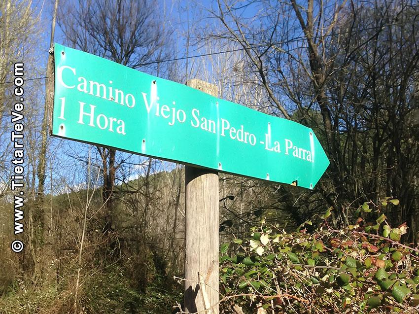 Carteles Ruta Camino Viejo San Pedro - Año 2018 - Arenas de San Pedro - TiétarTeVe
