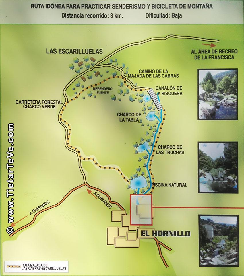 Ruta El Hornillo - Majadalascabras - Escarilluelas - TiétarTeVe