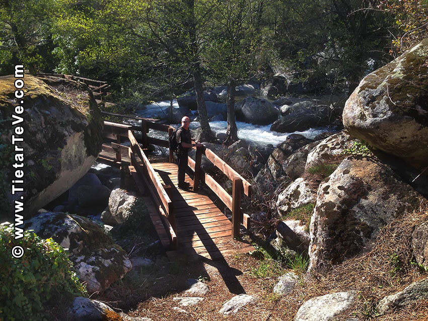 Canalón de La Risquera - Ruta El Hornillo - Majadalascabras - Escarilluelas - TiétarTeVe