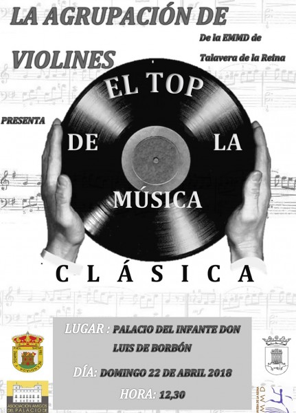 """Concierto """"El Top de la Música Clásica"""" - Arenas de San Pedro - TiétarTeVe"""