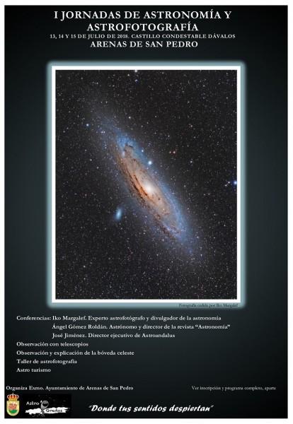Jornadas de Astronomía y Astrofotografía - Arenas de San Pedro - TiétarTeVe