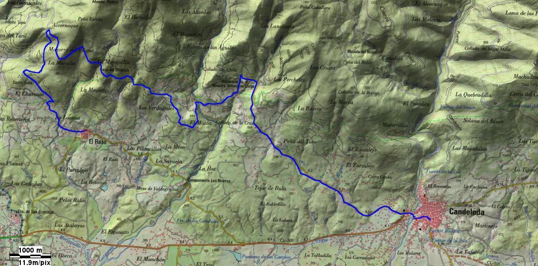 GR-293-Tramo 1 - A Vueltas con Gredos - TiétarTeVe