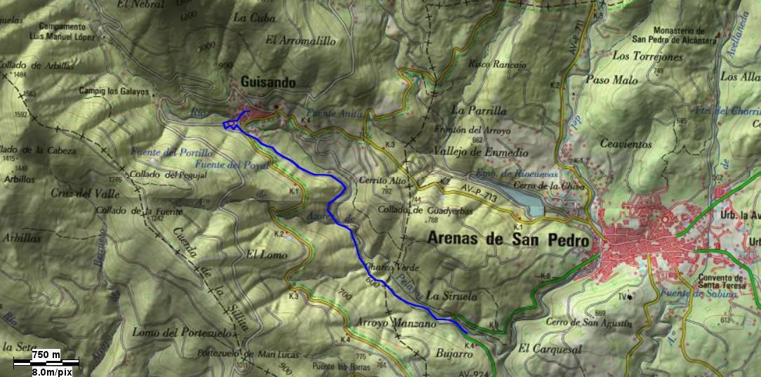 GR-293-Tramo 4 - A Vueltas con Gredos - TiétarTeVe