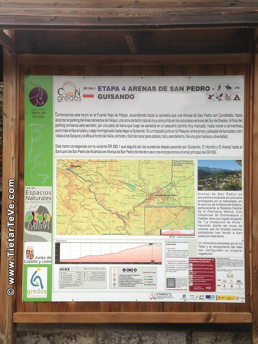 GR 293 - Etapa 4 - Arenas de San Pedro - Guisando - Cartel - TiétarTeVe