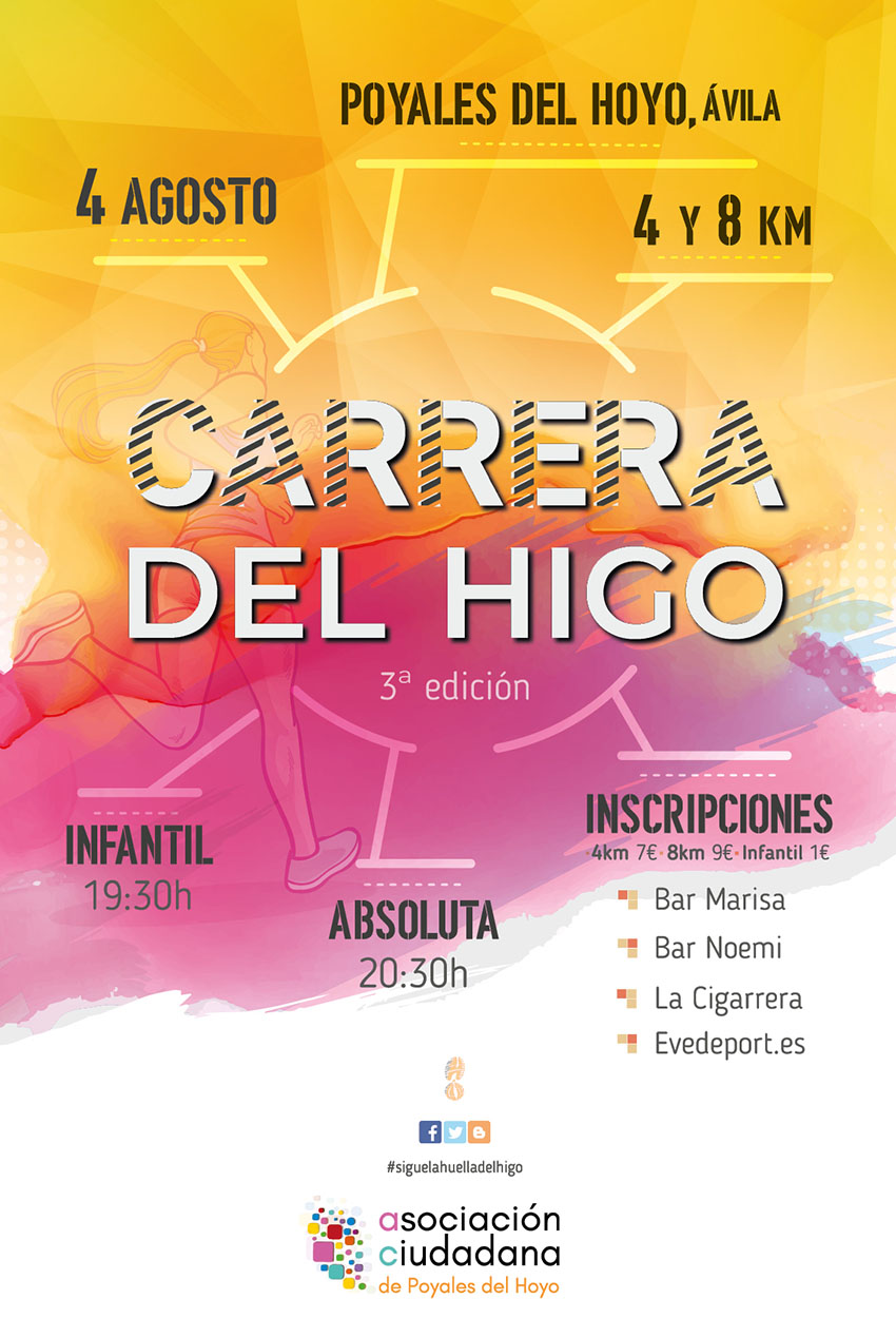 III Carrera del Higo - Poyales del Hoyo - TiétarTeVe