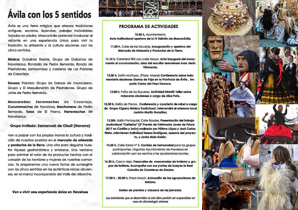 IV Mascaravila 2018 - Navalosa - TiétarTeVe