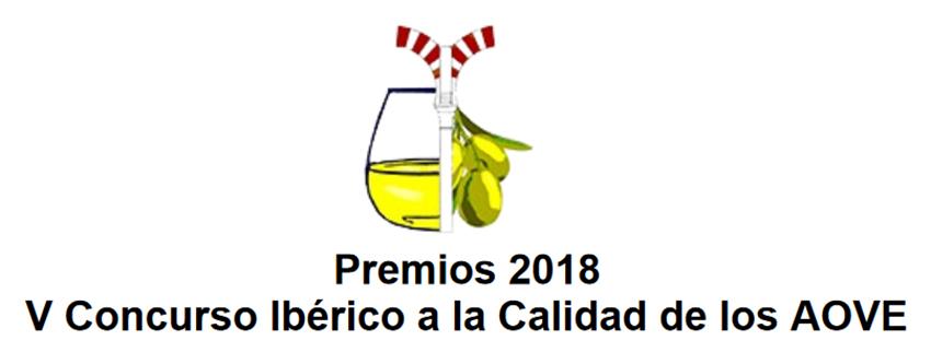 Logo V Concurso Ibérico a la Calidad de los AOVE 2018 - TiétarTeVe